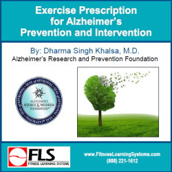 Exercise Prescription for Alzheimer's Prevention and Intervention Image